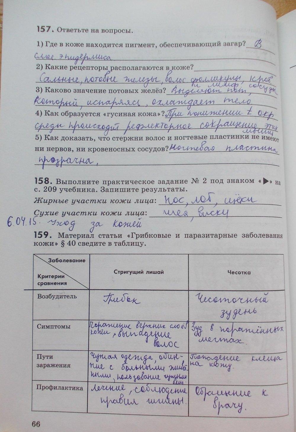 Решебник По Рабочей Тетради Биологии 8 Класс Маш Беляев