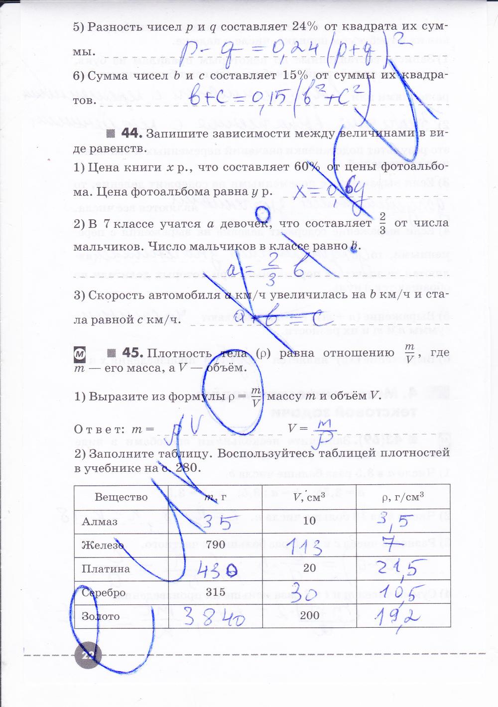 Гдз по алгебре 7 дрофа