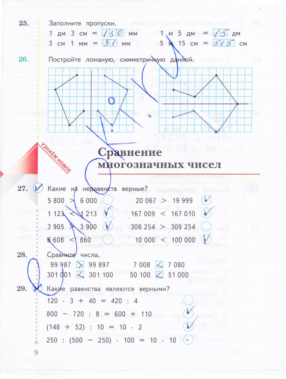 класс 1 граф часть учебник решебник математика вентана 4