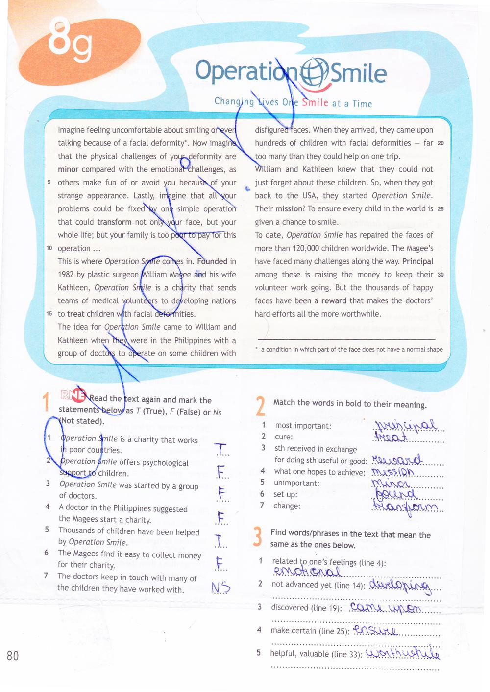 workbook 9 на класс решебник spotlight