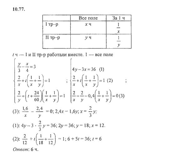 Алгебра 8-9 класс задачник