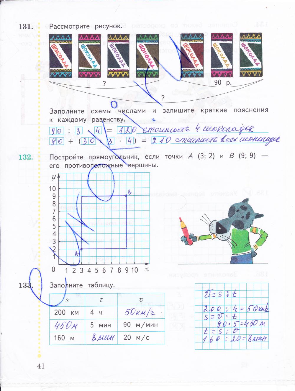 решебник к рабочей тетради по математике 5 класс рудницкая 2 часть