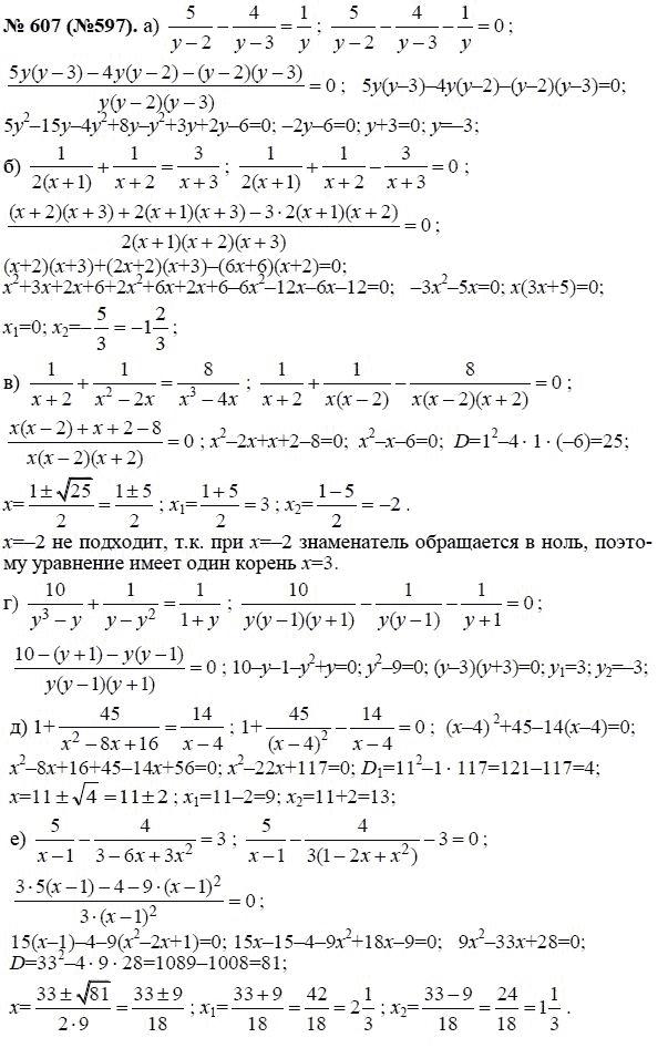 ГДЗ по алгебре 8 класс Теляковского 2015