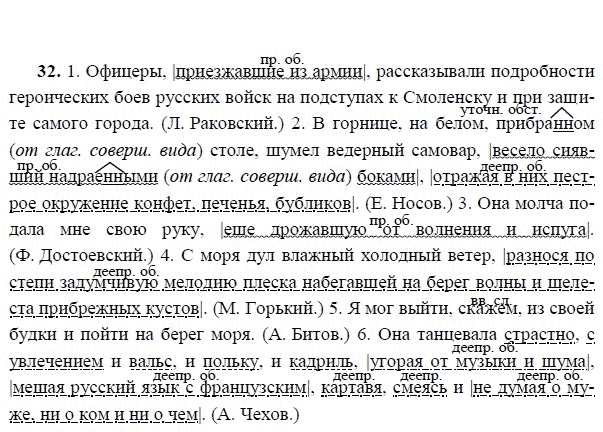 32 гдз класс язык русский