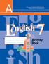 Рабочая тетрадь по английскому 7 класс (нумерация страниц не совпадает на 2 стр. со старым изданием), В.П. Кузовлев