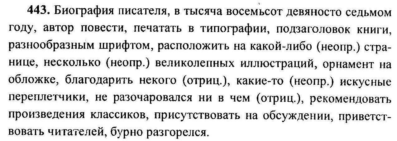 класс русс.яз гдз по т.а.ладыженская 6