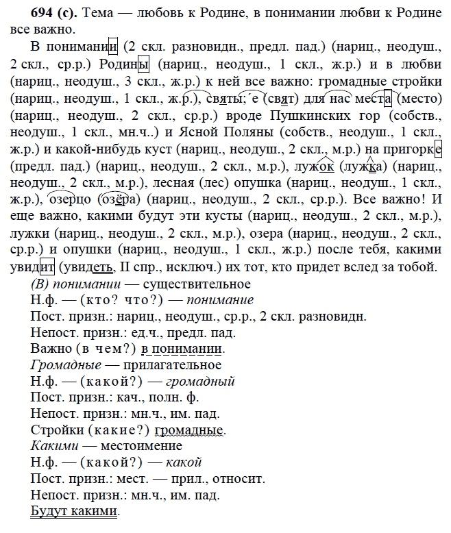 Гдз о русскому дрофа 6 класс