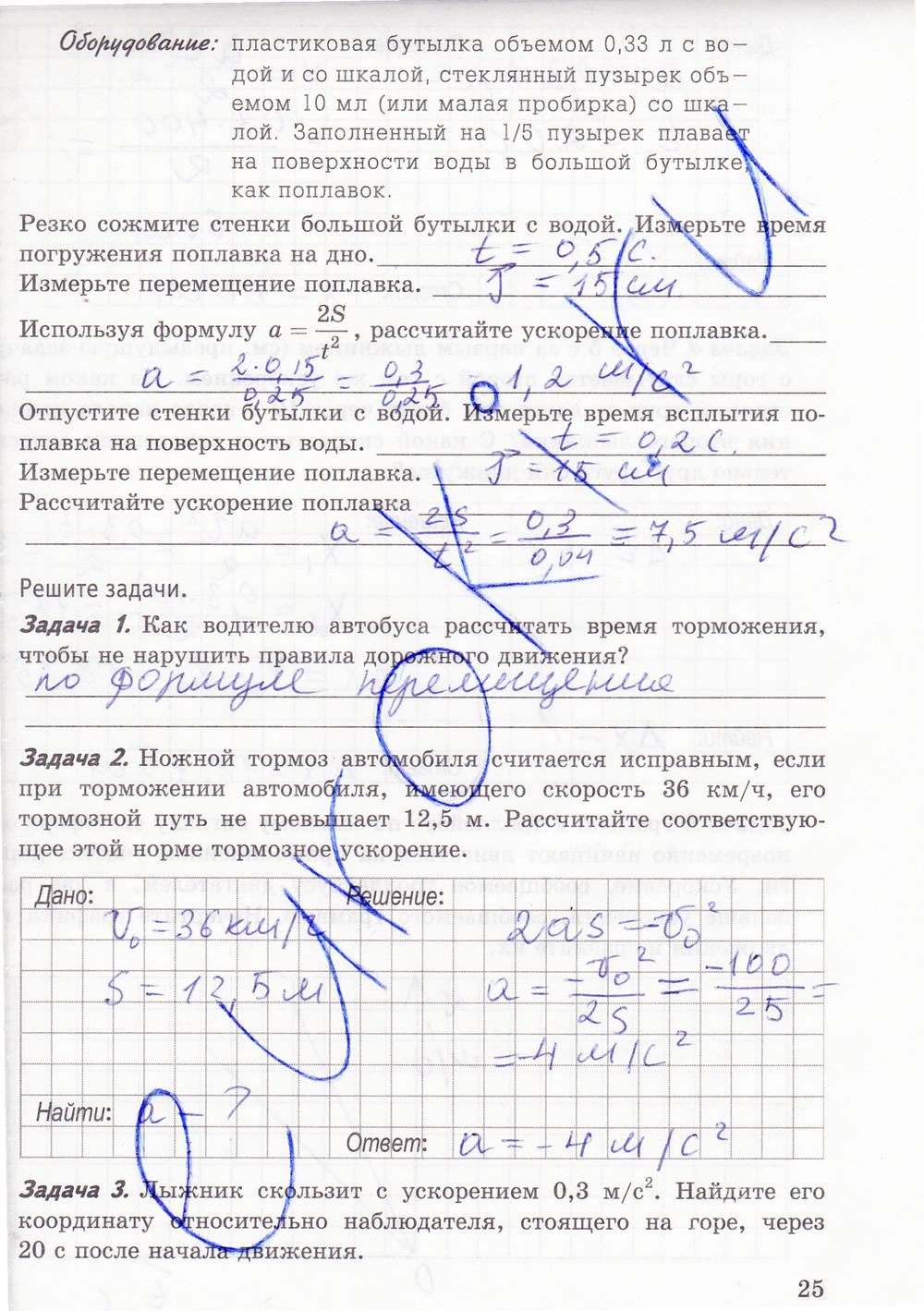 Готовое Домашние Задание По Физике 9 Класс А.в.перышкин