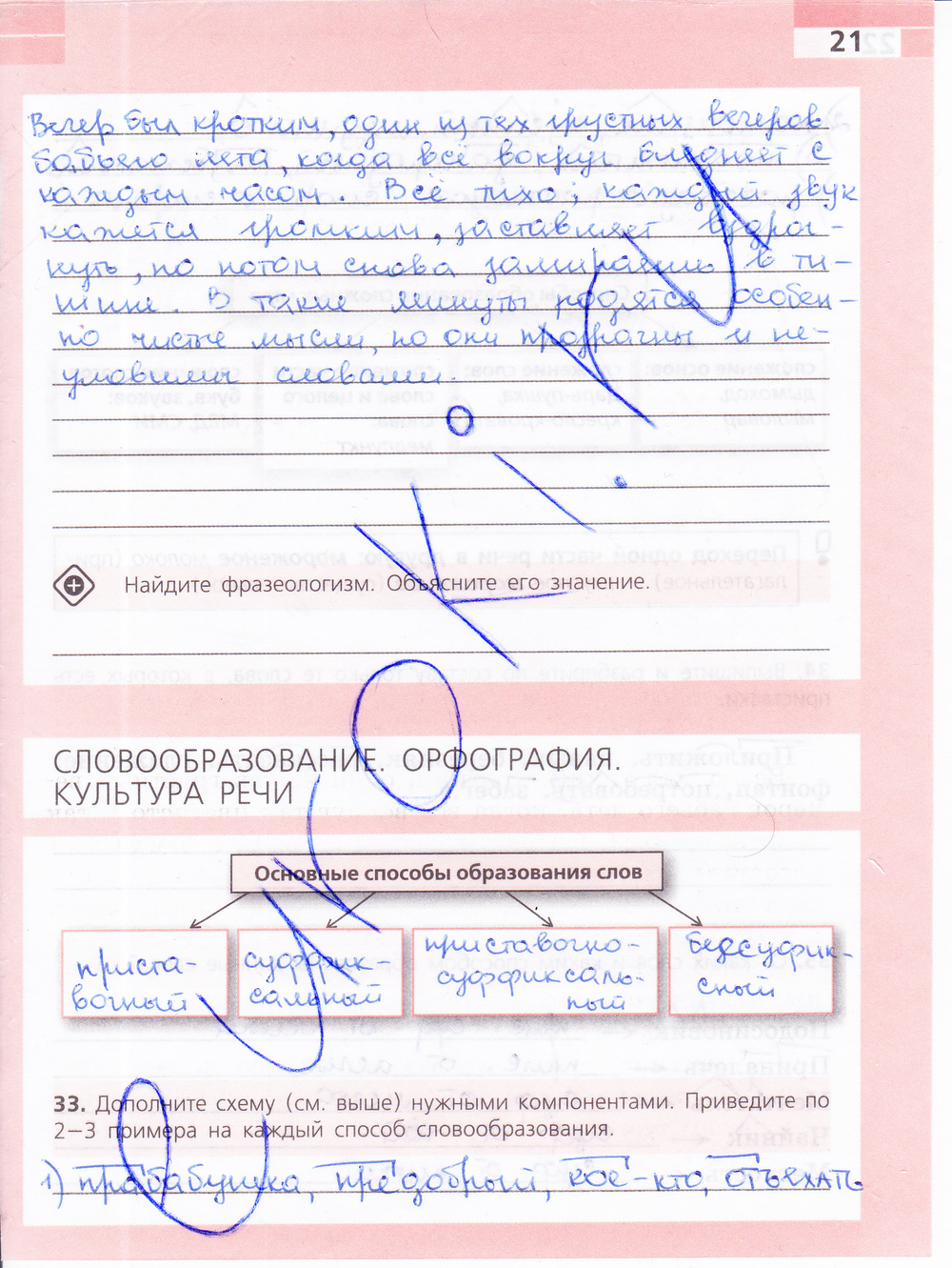 класс 6 гдз ефремова по русскому