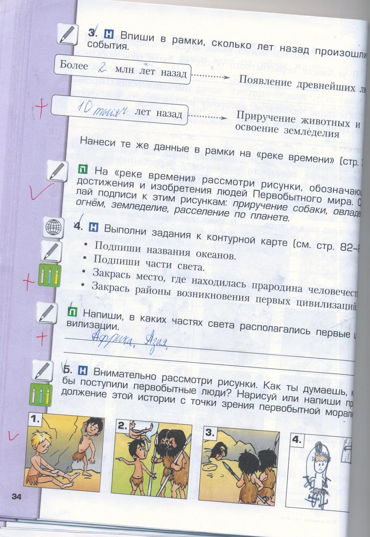 Решебник К Рабочей Тетради По Окружающему Миру 3 Класс Занков