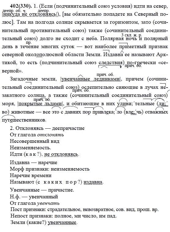 разумовский гдз класса русскому языку по седьмого