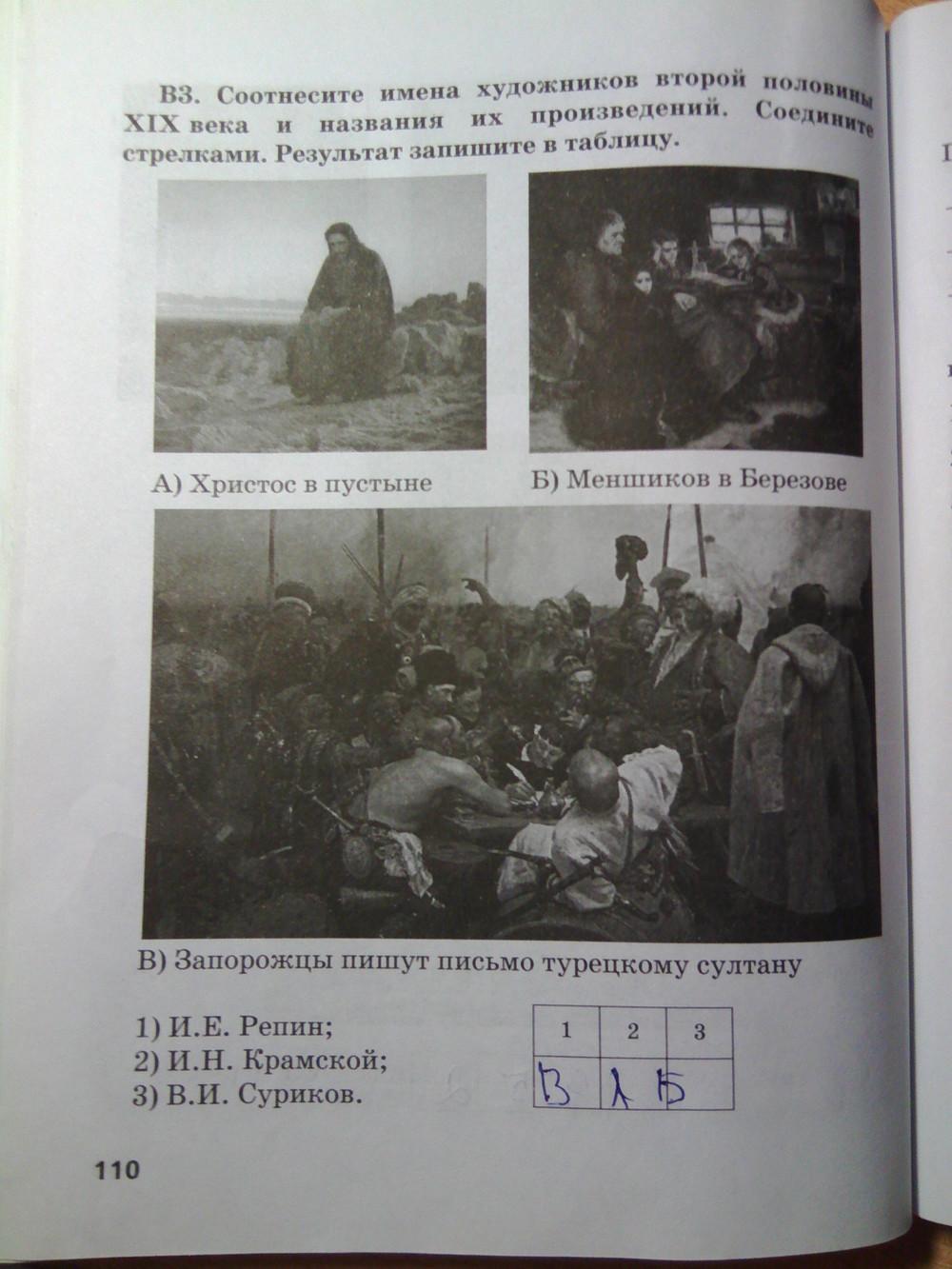 Гдз по тетради истории 8 класс кружалов ответы