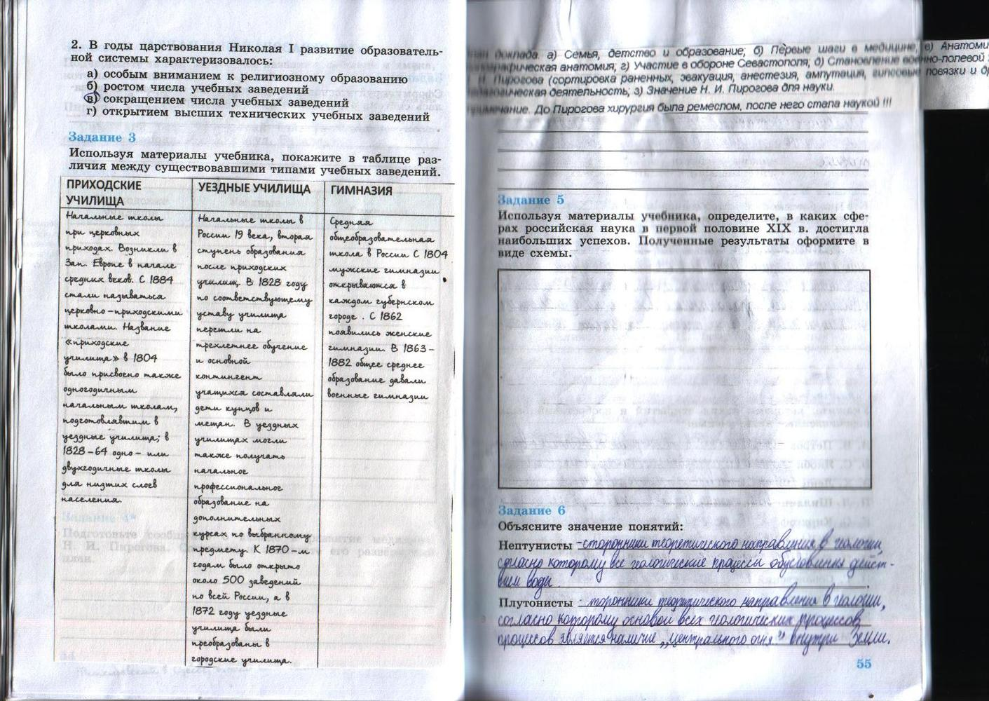 гдз история россии 8 класс 2018 год