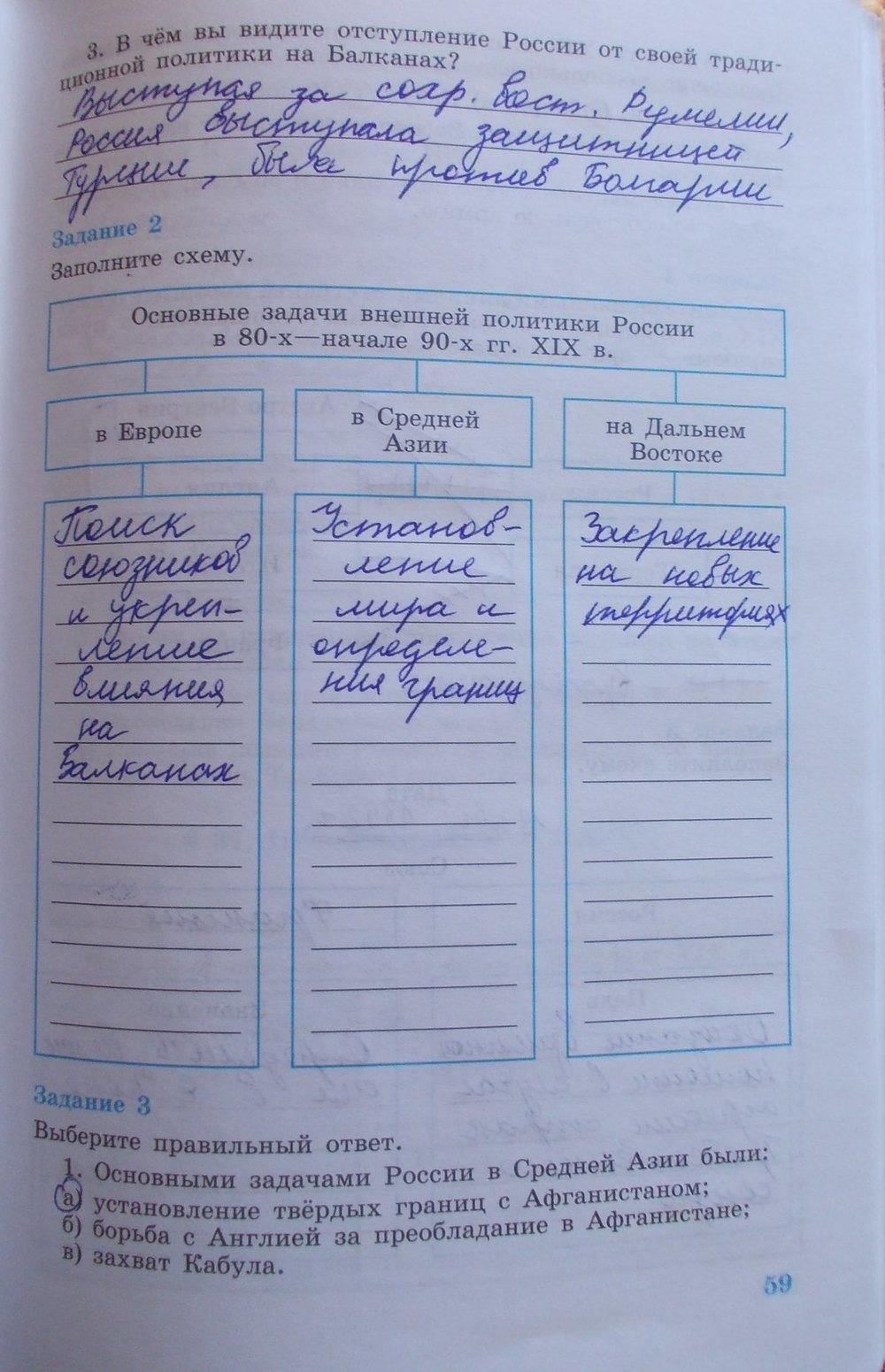 по часть гдз 2 тетради 8 рабочей к россии истории класс