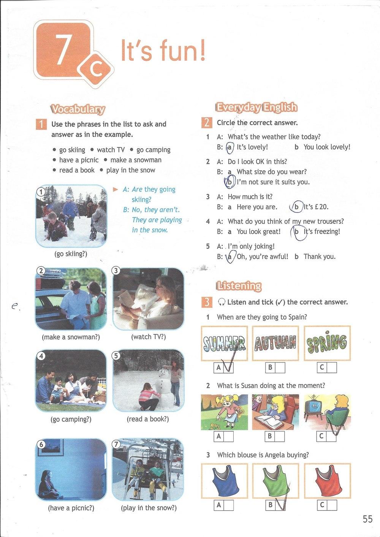 5 класс workbook по spotlight решебник