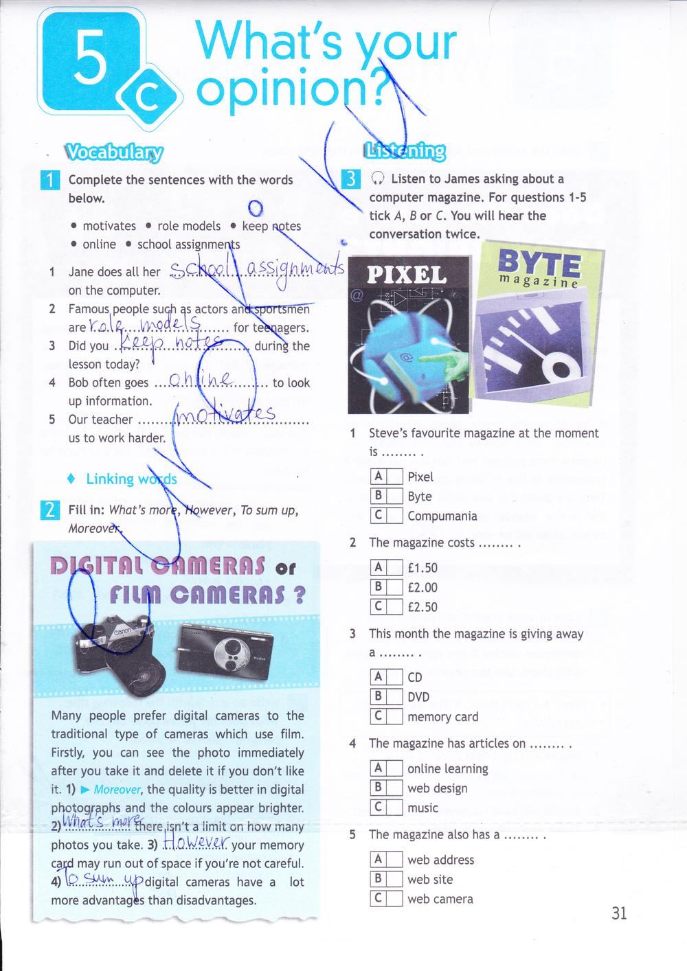 Гдз spotlight workbook 6 класс ответы