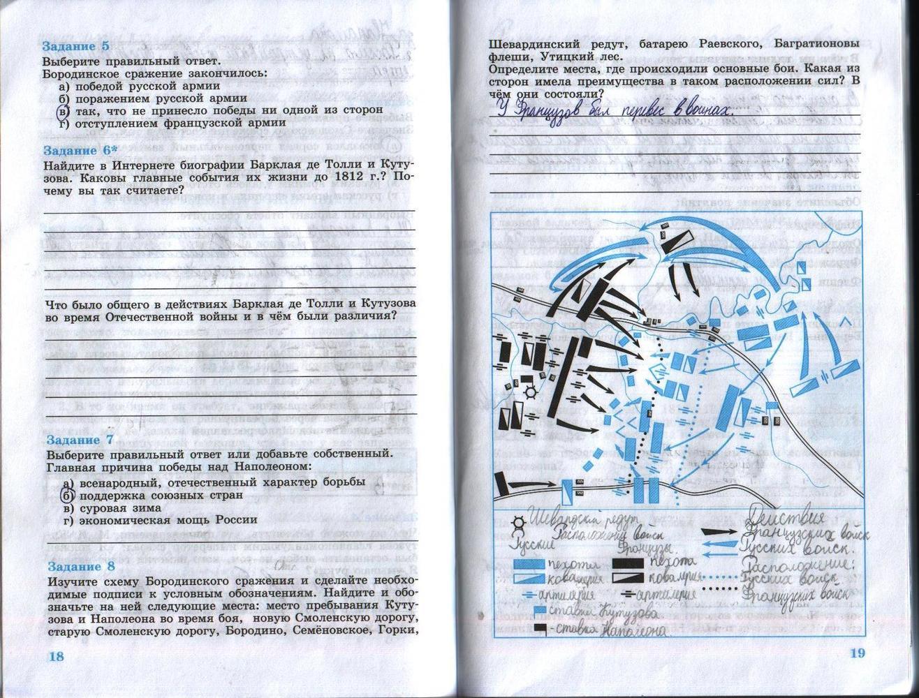 решебник история россии 8 класс рабочая тетрадь 2 часть данилов