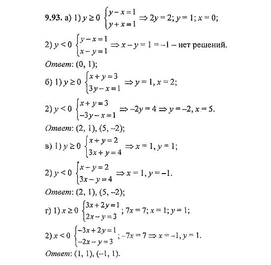 Класс. по решебник галицкий задач алгебре 8-9