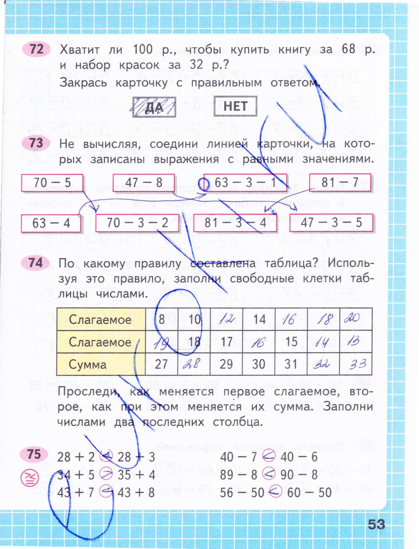 Часть 4 тетрадь класс 2 1 математике часть моро гдз рабочая по