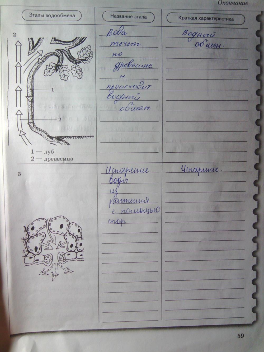 Рабочей пономарева панина биологии в 9 по корнилова класс тетради гдз