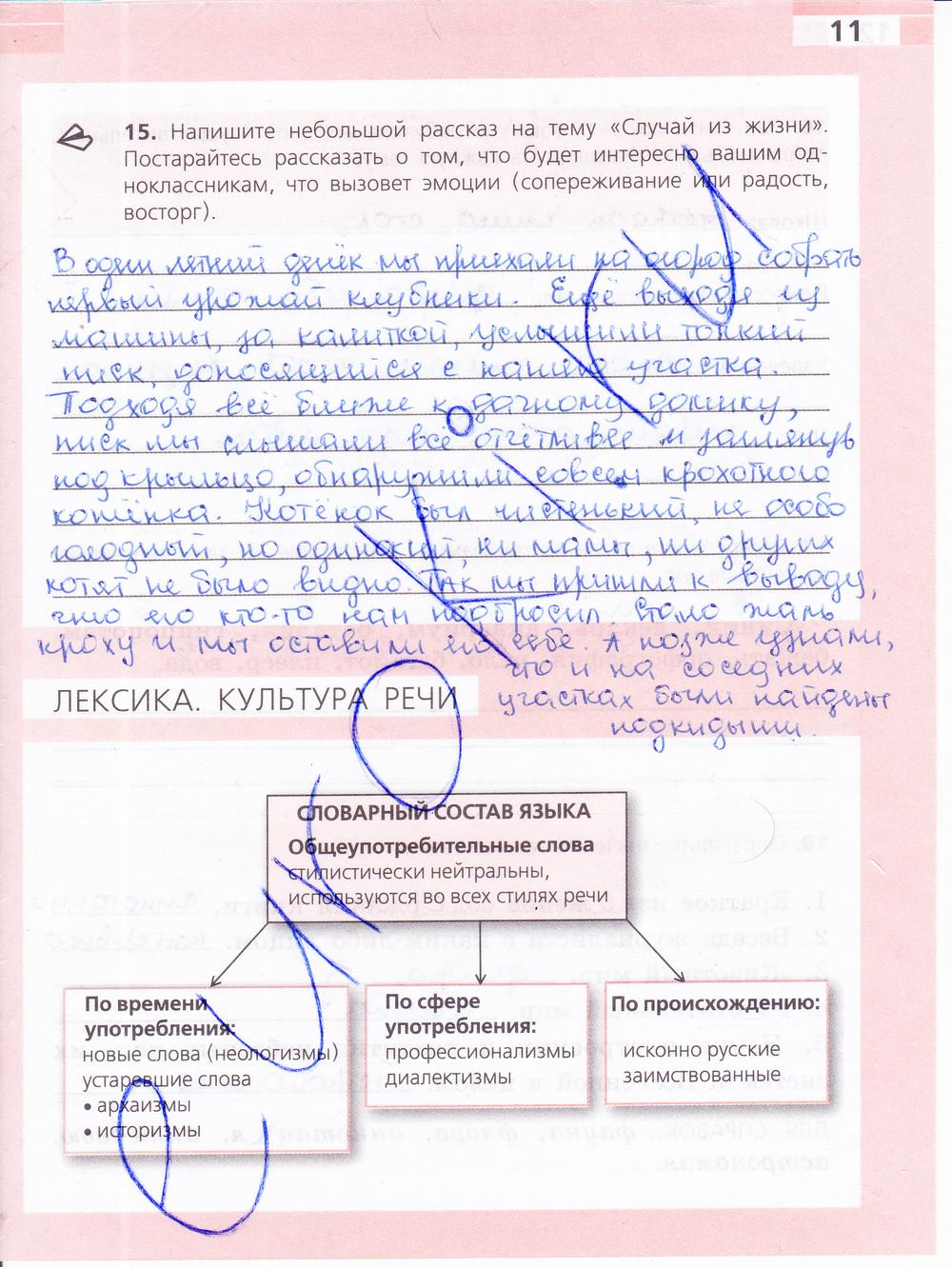 гдз по русскому языку 6 класс рабочий тетрадь е а ефремова