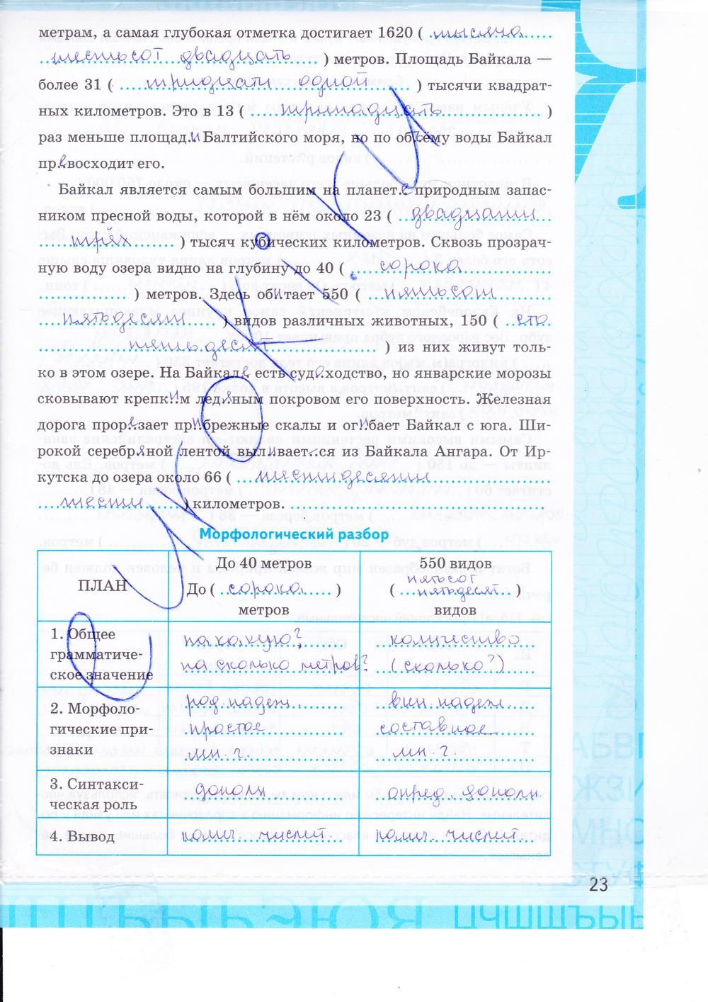 Гдз по русскому 6 класс баранова рабочая тетрадь