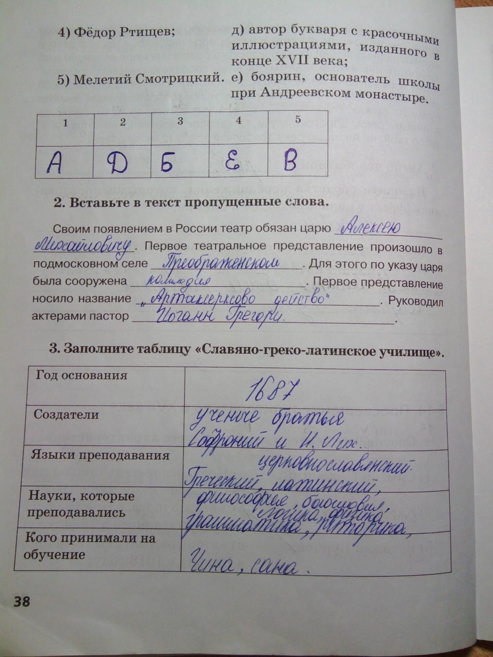 Истории 7 класс пчелова к история гдз учебнику россии по