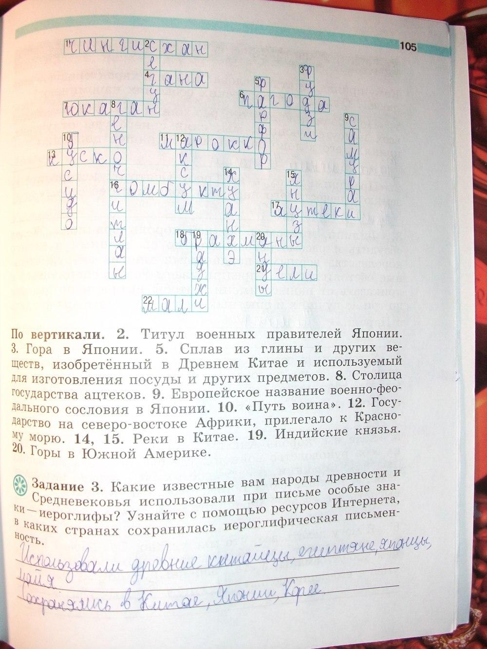 Гдз По Истории 6 Класс Рабочая Тетрадь Крючкова Ведюшкин Смотреть