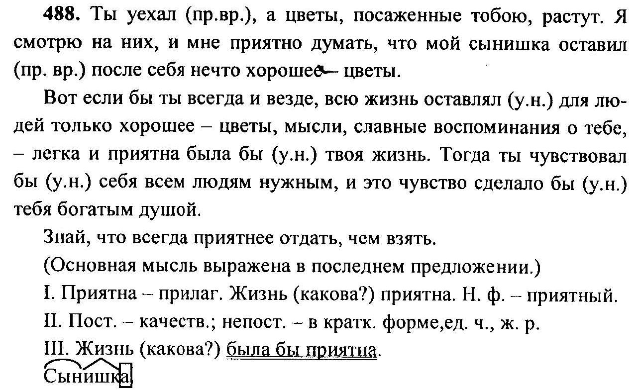 Гдз по 6 класс виленкин русский язык 6 класс