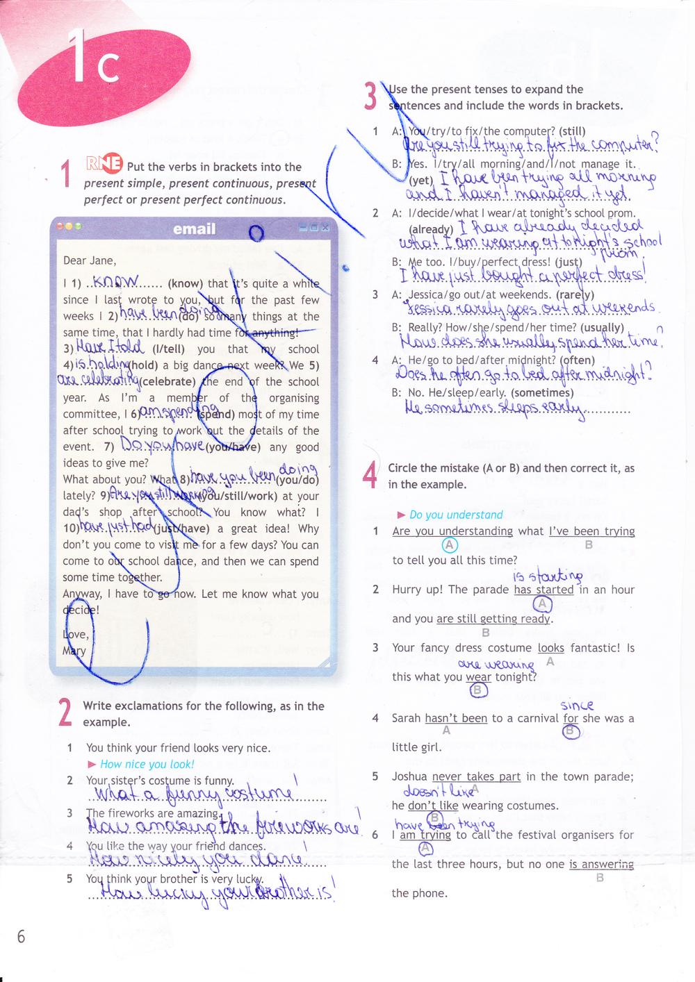 spotlight workbook 9 на решебник класс