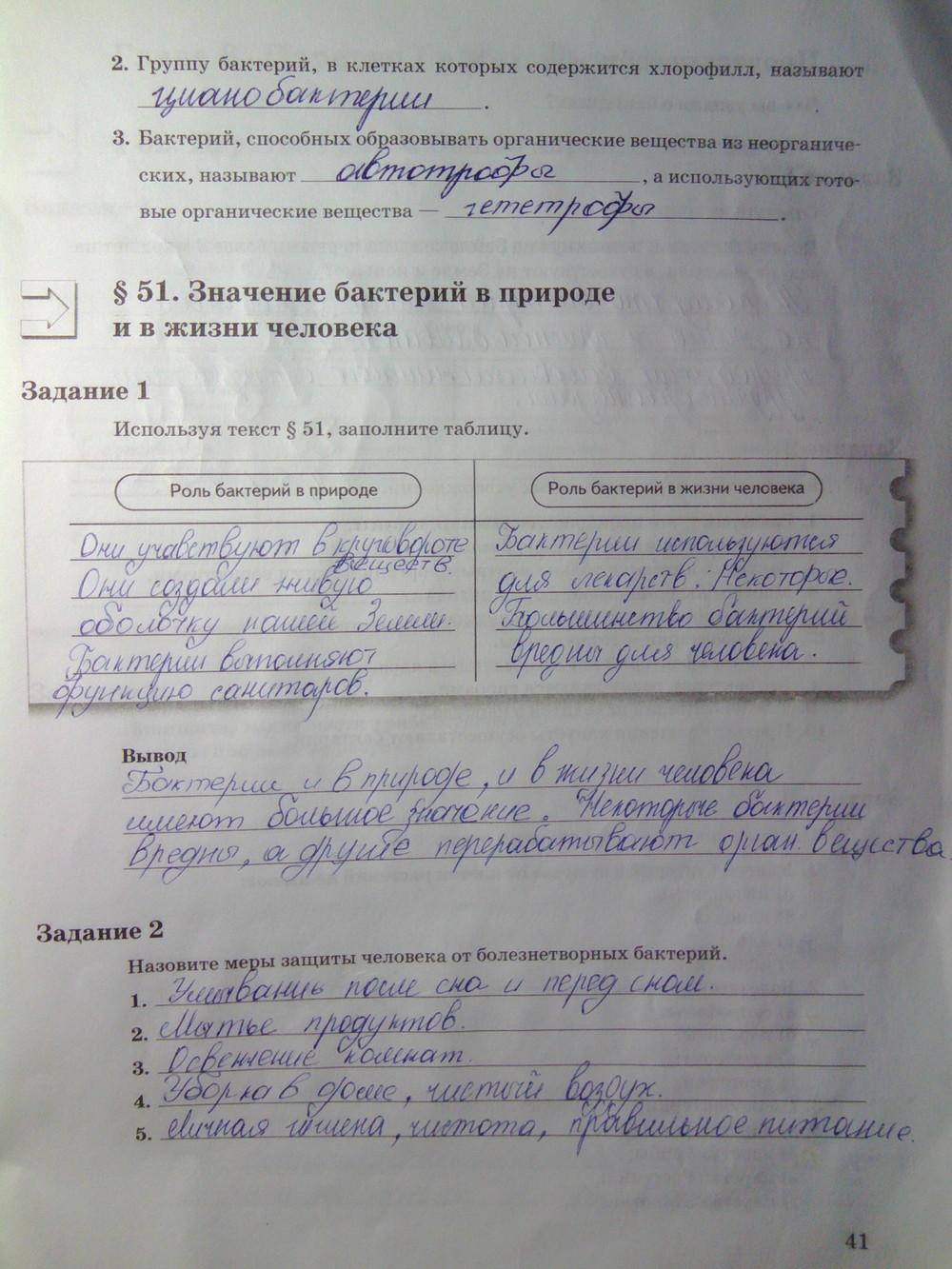 2018 6 пономарев гдз класс биология