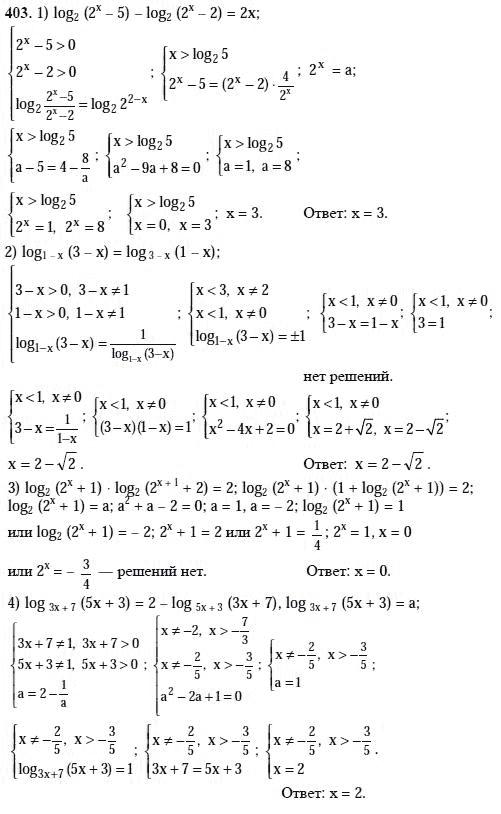 гдз.по алгебре за 10 11 класс алимова