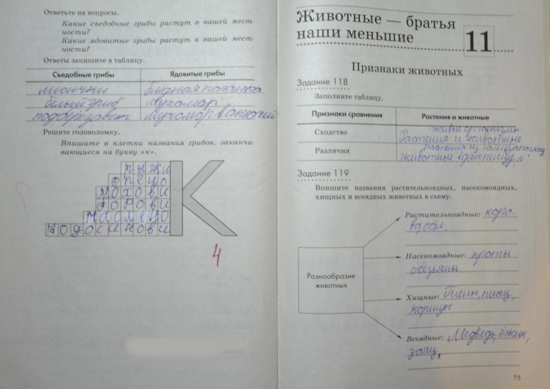 гдз по введению в биологию 5 класс рабочая тетрадь