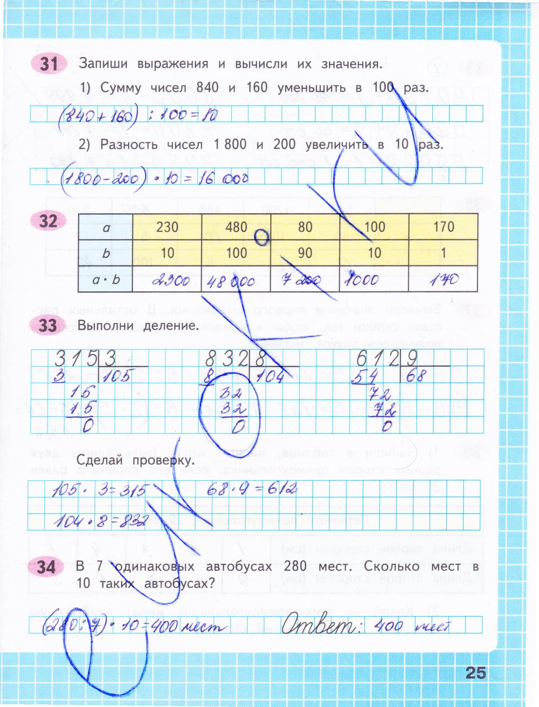 Готовое Домашнее Задание По Математике В Рабочей Тетради 4 Класс
