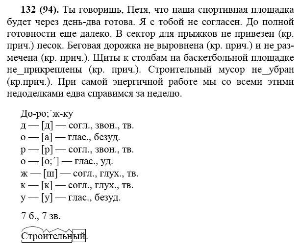 гдз по русскому 7 класса баранов зеленый учебник