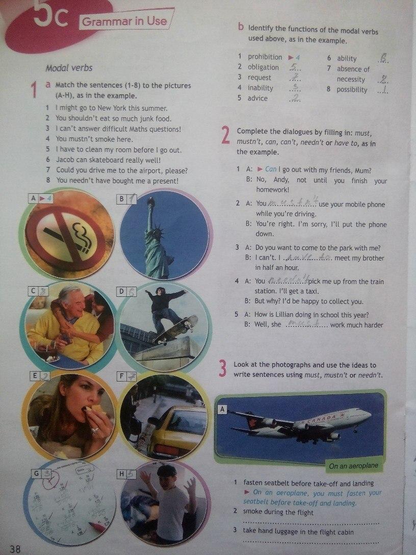 11 рабочая по класса spotlight тетрадь гдз английскому