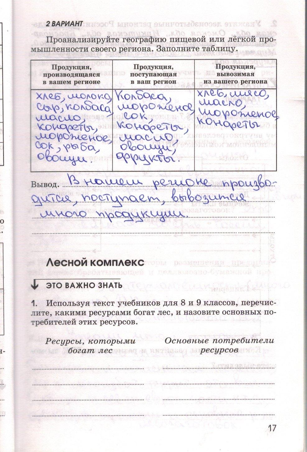 Решебник По Географии 9 Класс Рабочая Тетрадь Алексеева
