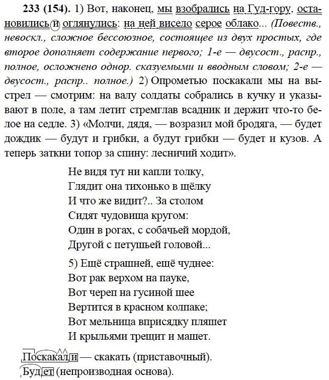 2005 9 класс гдз год русский