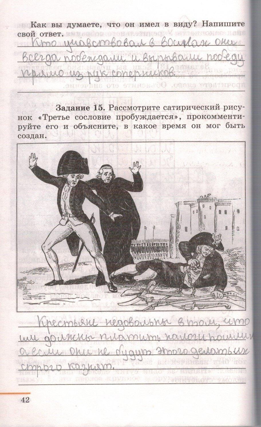 Гдз В Рабочей Тетради По Истории 7 Класс Юдовская Баранов Ванюшкина