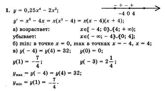 Алгебра Начало Анализа 10 Класс Контрольные Работы Гдз