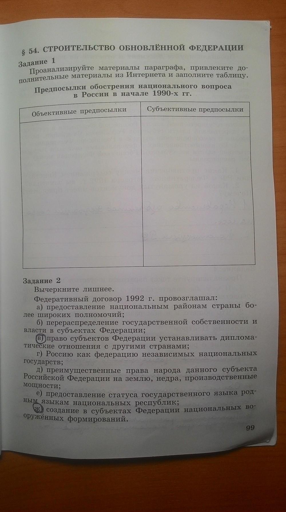 Задания класс 9 учебник гдз данилов косулина по истории