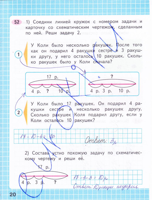 гдз по русскому и математике 4 класс рабочая тетрадь