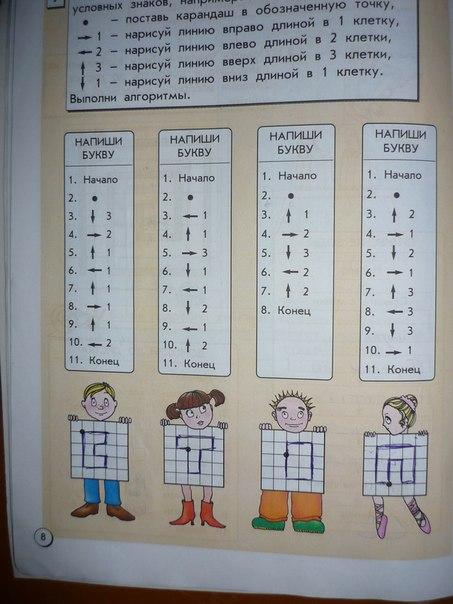 информатика 3 класс горячев ответы часть 1 решебник матвеева