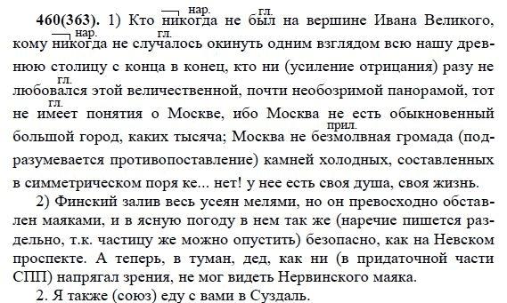 ГДЗ по русскому 9 класс Разумовская 2002