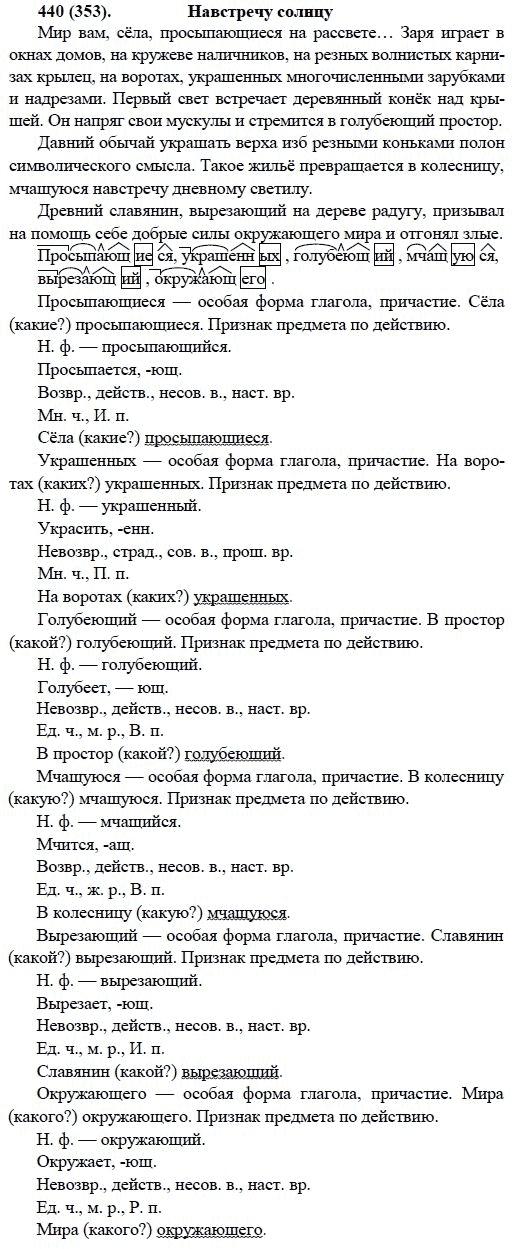 ГДЗ по русскому языку, 6 класс, Баранов, Ладыженская