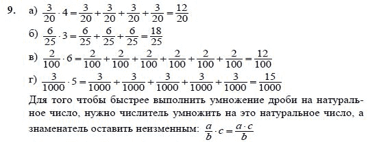 гдз 4 класс математика дроби