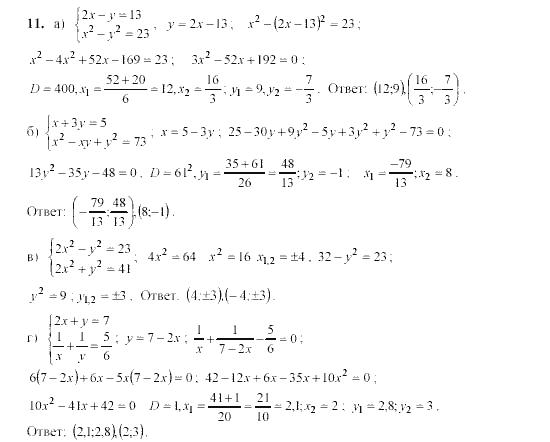 Материалы алгебра гдз дидактические 11