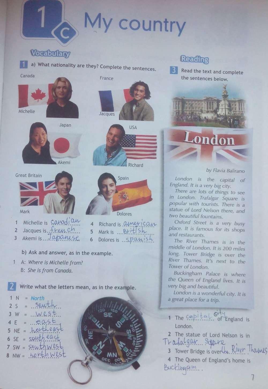 гдз по английскому 6 класс рабочая тетрадь spotlight workbook