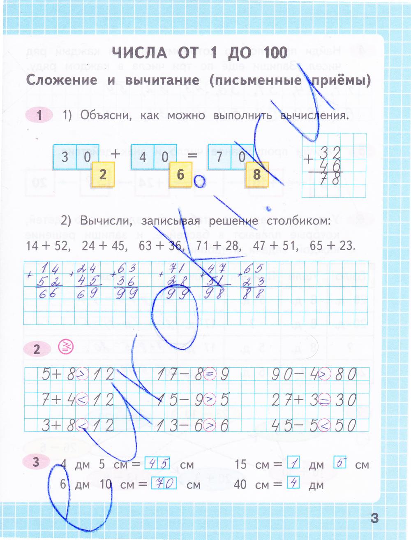 Готовые Домашние Задания По Математике За 4 Класс Рабочая Тетрадь
