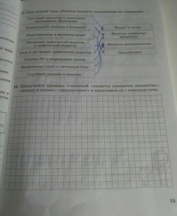 Информатике решебник года беларуси 2018 класс в по 7
